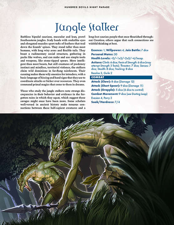 Hundred Devils Night Parade: Aughdeighe and Jungle Stalker