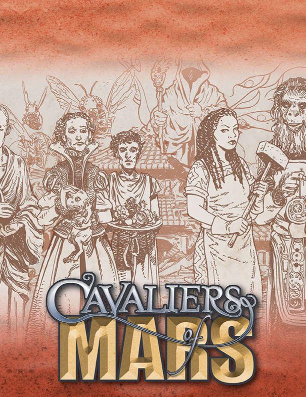 Cavaliers of Mars Wallpaper - Onyx Path
