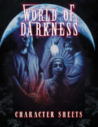 World of Darkness 20th Anniversary Character Sheets