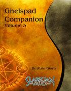 Ghelspad Companion - Volume 5