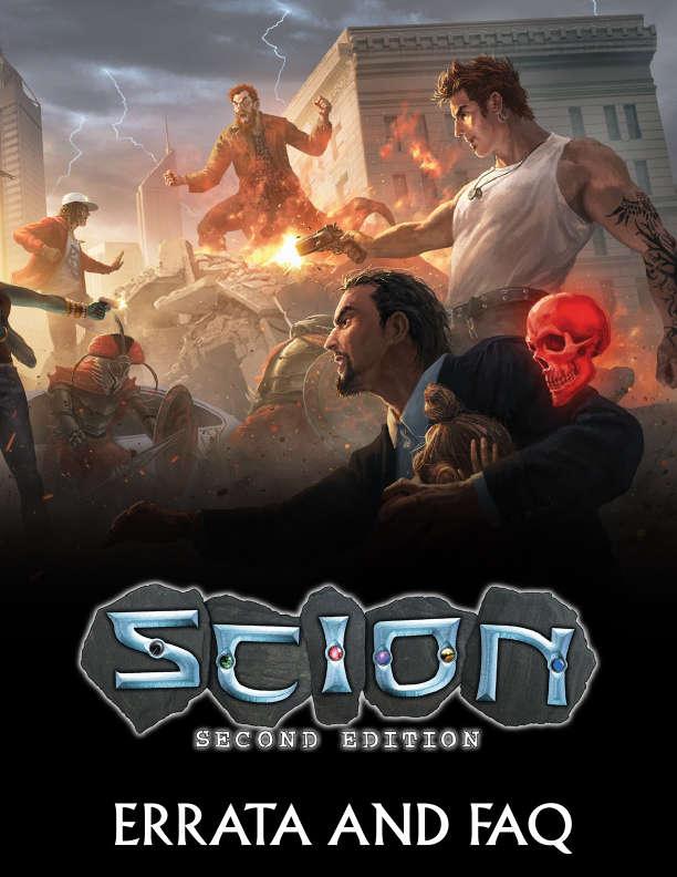 Scion Second Edition Errata And Faq Onyx Path Publishing Scion