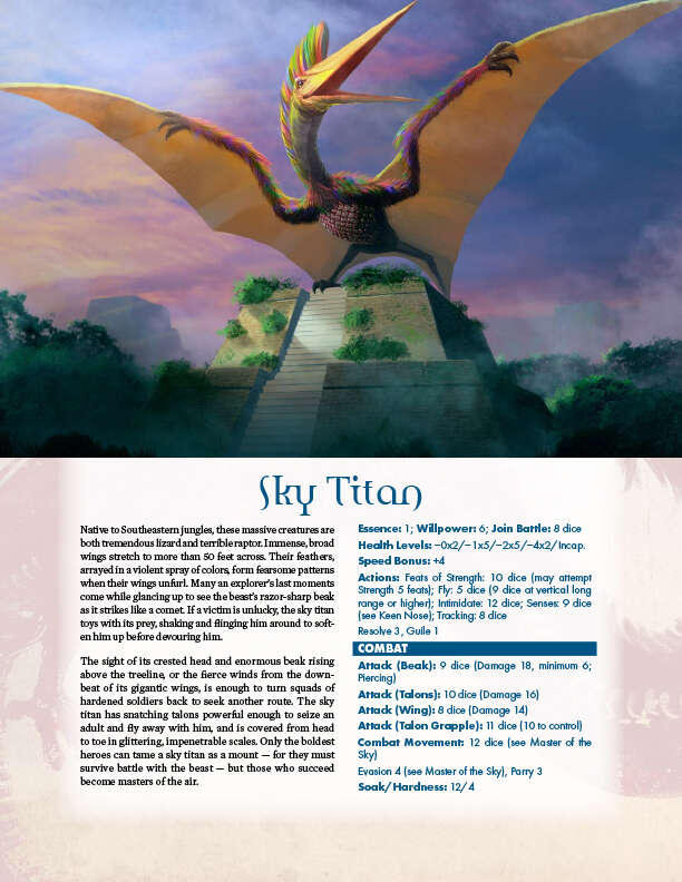 Hundred Devils Night Parade: Sky Titan and Storm Serpent