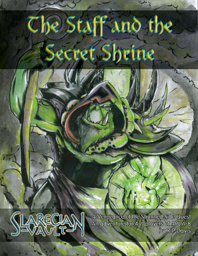 Cover of The Staff and the Secret Shrine