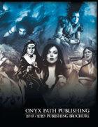 Onyx Path 2019-2020 Publishing Brochure