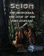 Enondeara, the gods of the Tupi-Guarani