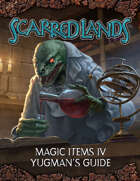Scarred Lands Magic Item Cards: Yugman's Guide (5e)