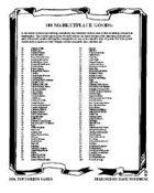 100 Marketplace Goods