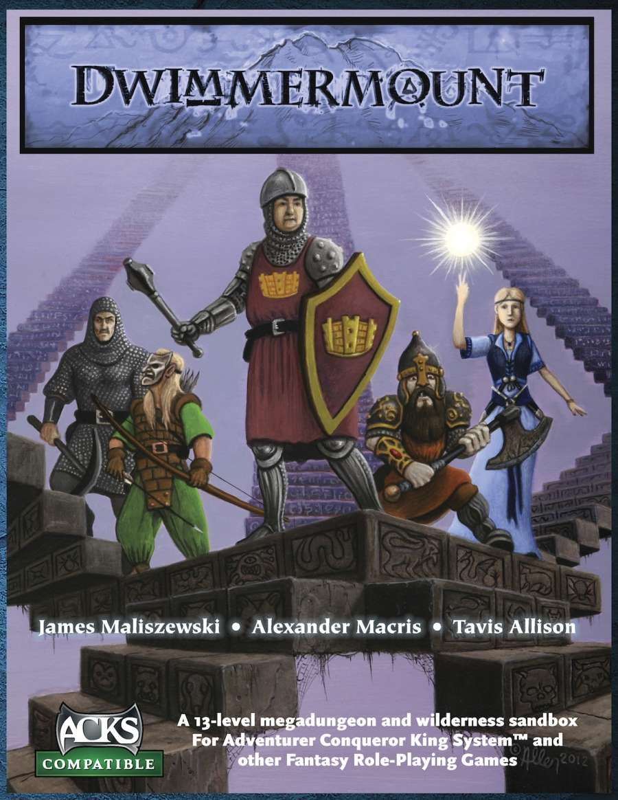 Cover of Dwimmermount (ACKS version)