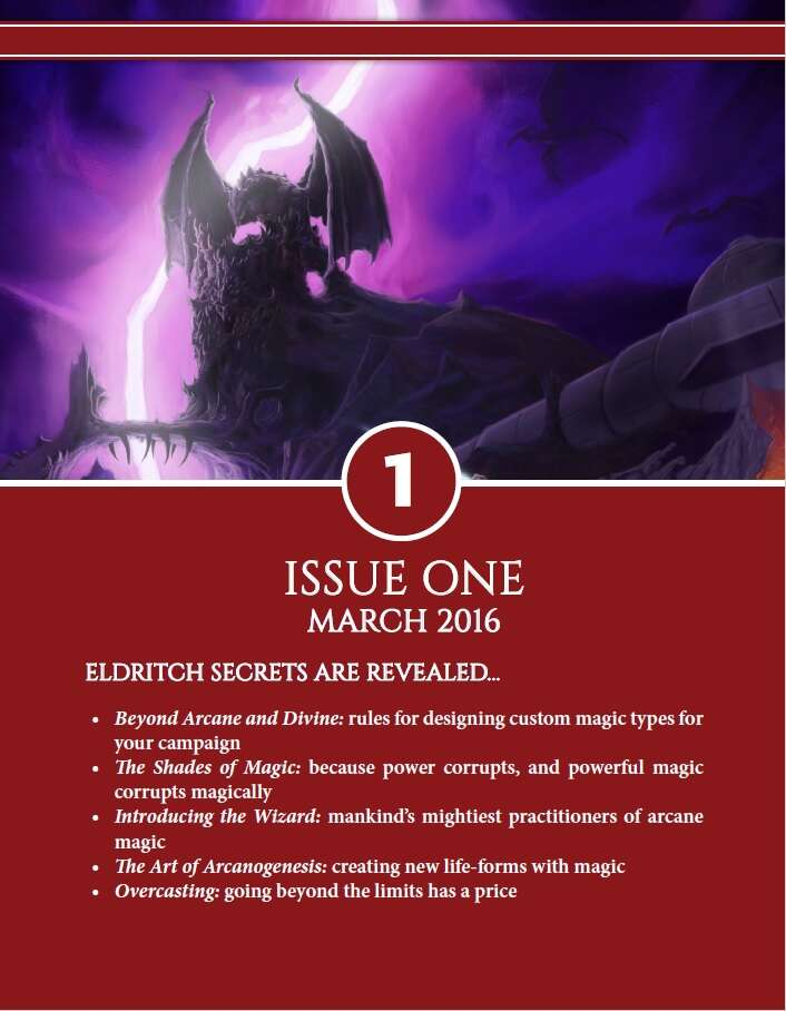Axioms Issue 1