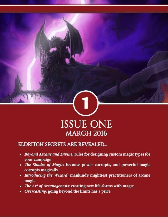 Axioms Issue 1 Autarch Drivethrurpg Com