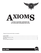 Axioms Issue 2