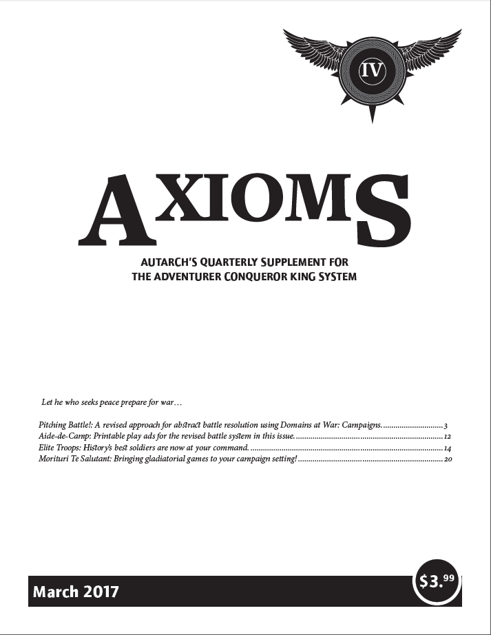 Axioms Issue 4