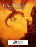 Halberd Fantasy Roleplaying