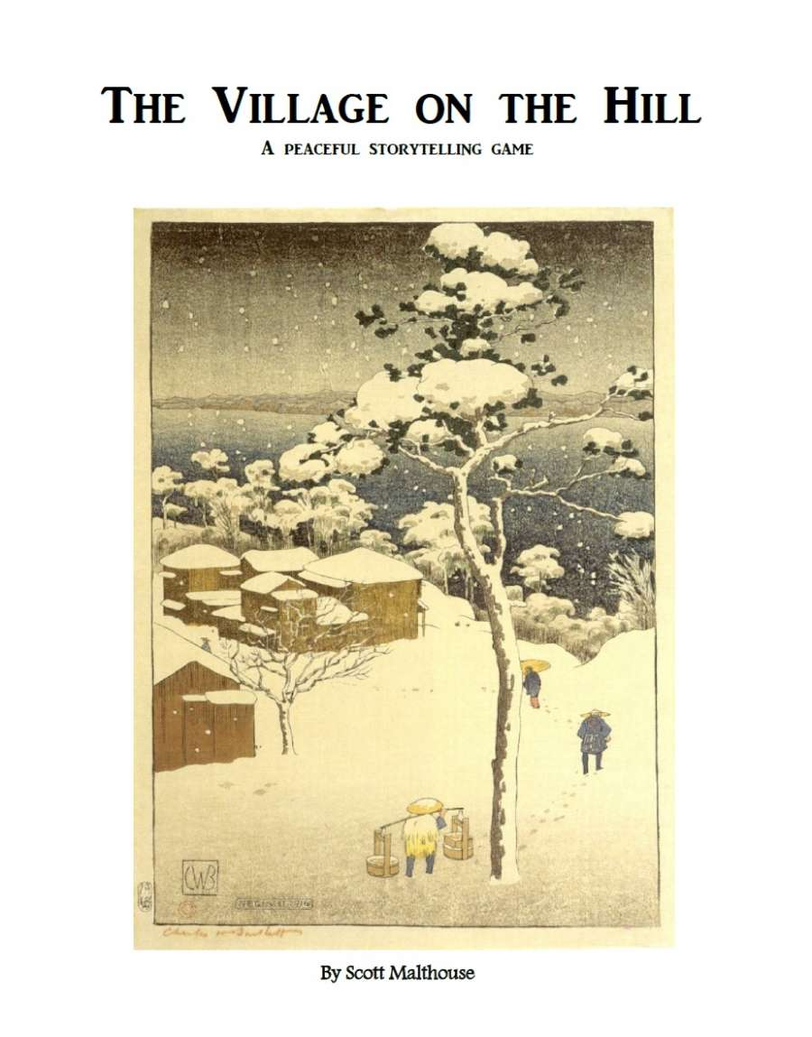 The Village on the Hill: A Peaceful Storytelling Game