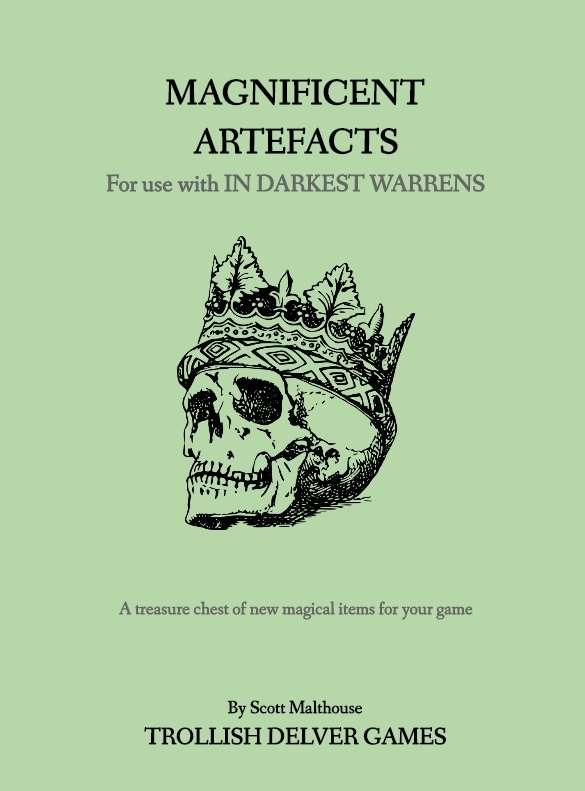 In Darkest Warrens: Magnificent Artefacts