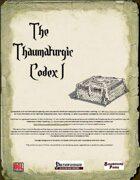 The Thaumaturgic Codex