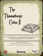 The Thaumaturgic Codex II