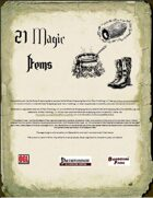 21 Magic Items