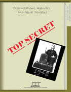 1948: Organizations, Agencies and Secret Societies