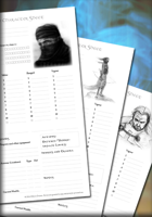 Character Sheets for Nights of the Crusades