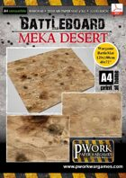 Battle Board: Meka Desert