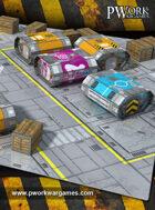 Cardboard Scenery Capsule Complete Set [BUNDLE]