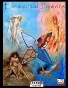 Elemental Powers Sourcebook