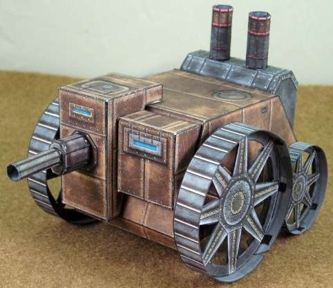 Cog Cruiser:The Steam Ram