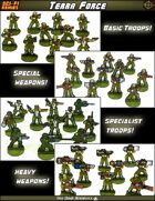 Terra Force Basic Infantry Company [BUNDLE]