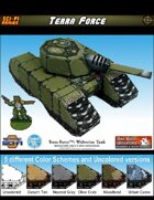 Terra Force: Wolverine Medium Battle Tank