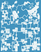 Old School Blue Map #1