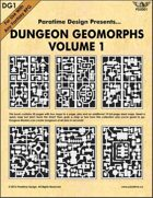 Dungeon Geomorphs Vol 1