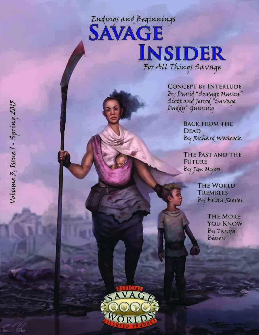 Savage Insider, V3I1, Endings and Beginnings