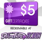 DriveThruFiction $5 Gift Certificate/Account Deposit