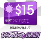 DriveThruFiction $15 Gift Certificate/Account Deposit