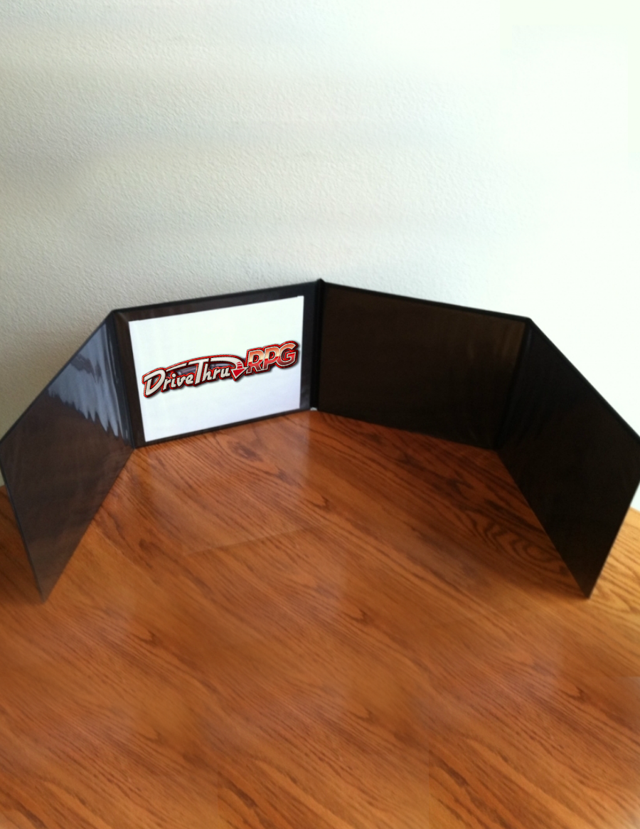 DriveThruRPG Game Master Screen (landscape) - OneBookShelf, Inc  |  DriveThruRPG com