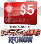 $5 Gift Certificate/Account Deposit