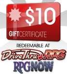 $10 Gift Certificate/Account Deposit