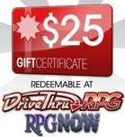 $25 Gift Certificate/Account Deposit