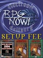 RPGNOW VENDOR SETUP FEE