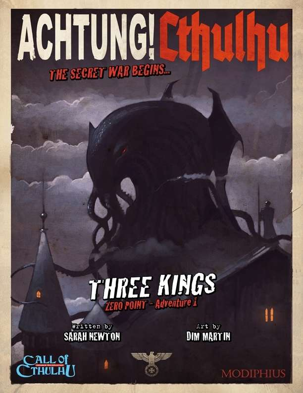 Three Kings - Cthulhu Roleplaying in World War Two