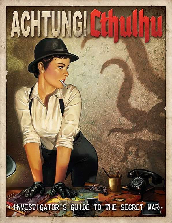 Achtung! Cthulhu: Investigator's Guide