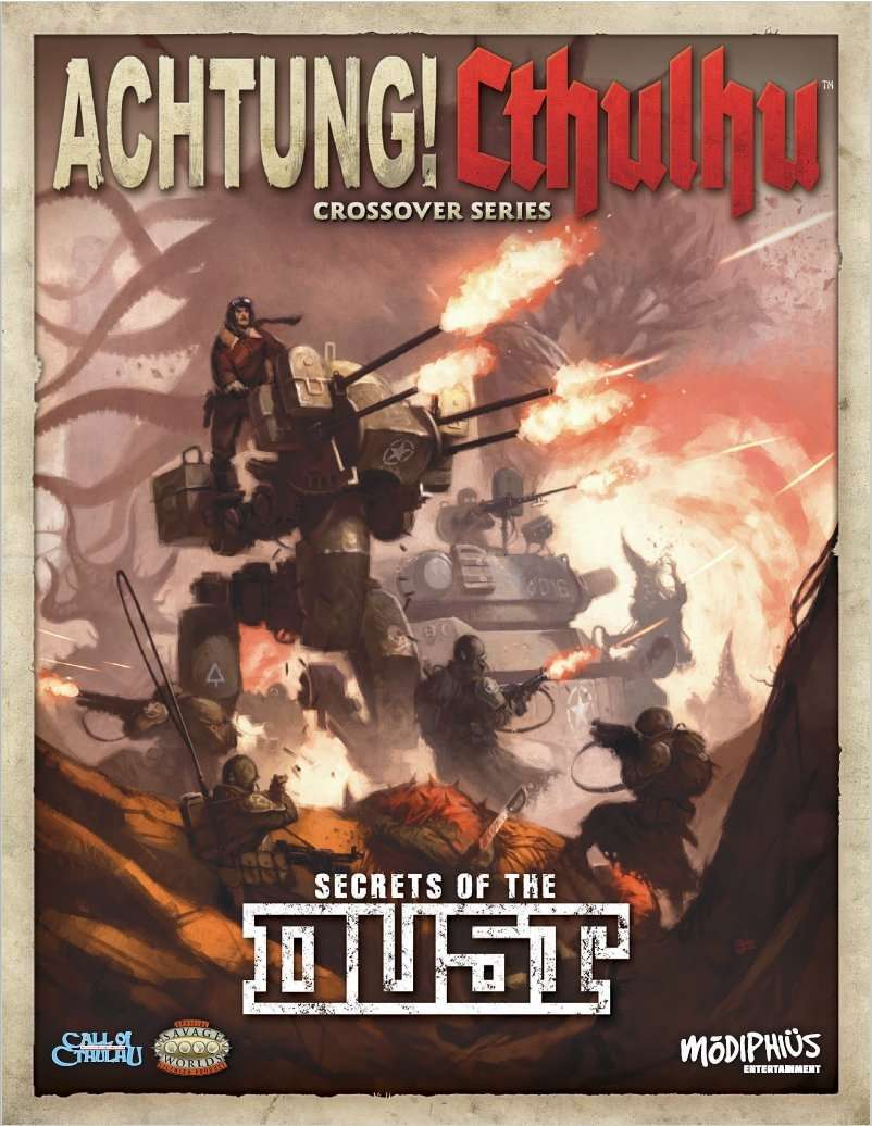 Achtung! Cthulhu: Secrets of the Dust