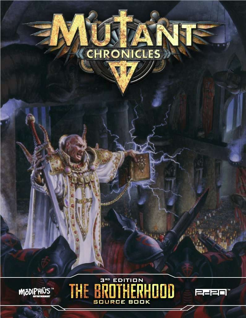 Sleeping giant: mutant chronicles relaunches.