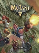Mutant Chronicles Gamemaster Screen PDF