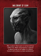 Mutant Chronicles - Villains Card Deck