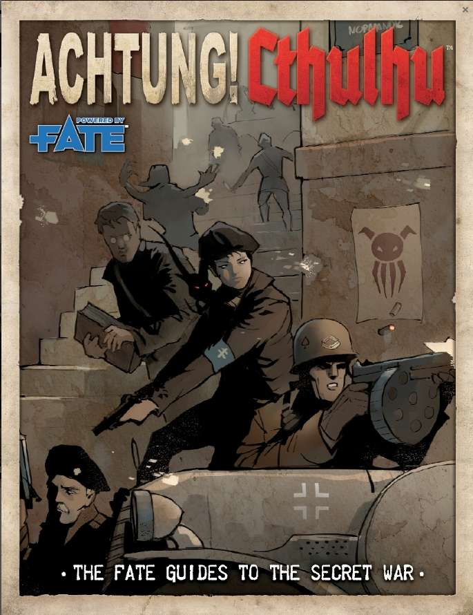 Achtung cthulhu crossover bundle modiphius achtung for Bureau 13 rpg pdf