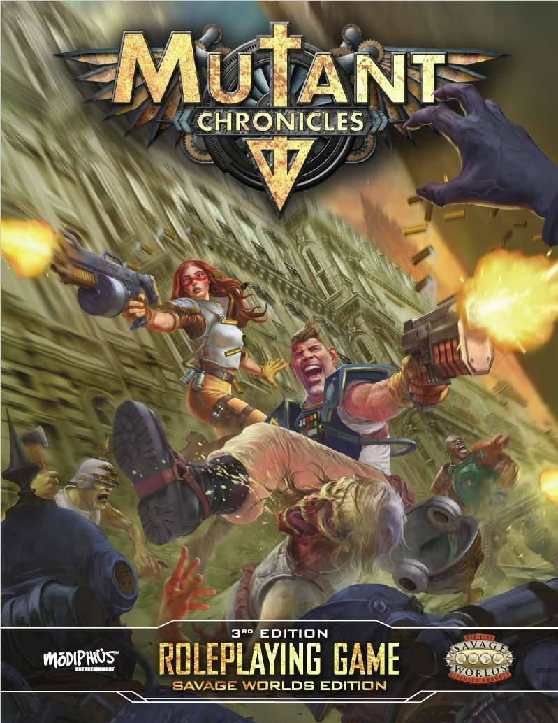 Mutant Chronicles 3rd Edition Core Book Savage Worlds Edition