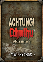 Achtung! Cthulhu Skirmish Card Deck