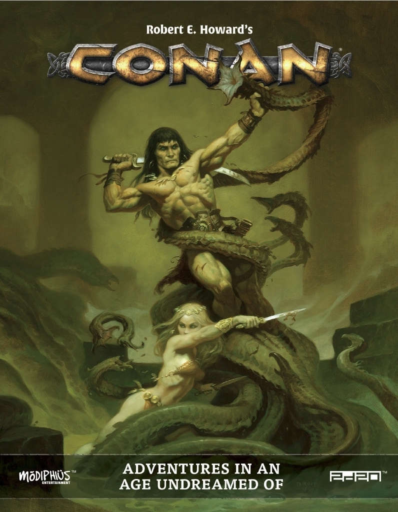 Conan: Adventures in an Age Undreamed Of core book